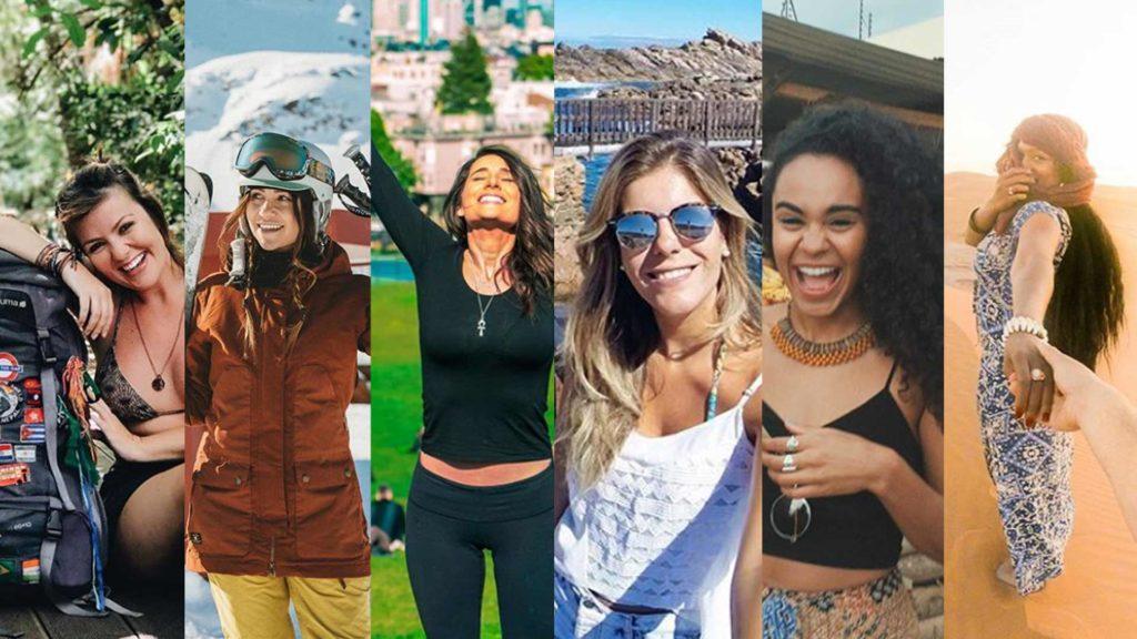 mulheres que viajam
