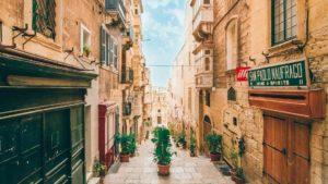 Valetta é uma das cidades para se fazer intercâmbio em Malta
