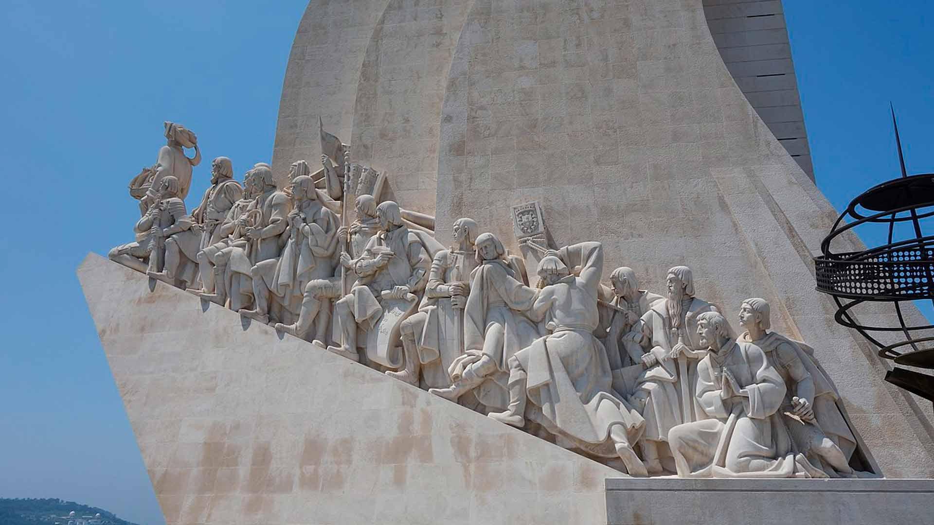 Monumento do Padrão dos Descobrimentos, em Lisboa