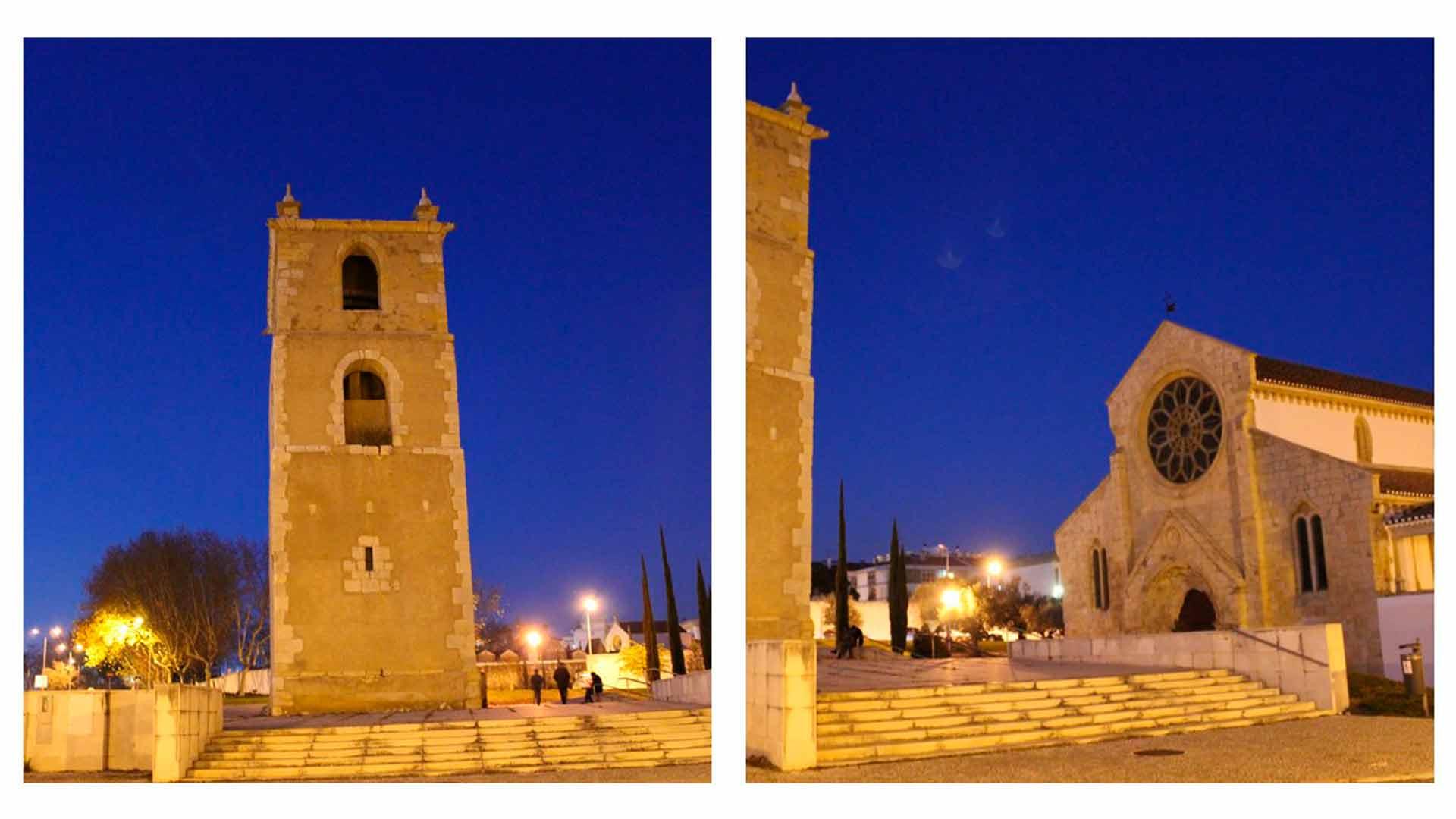 Exterior da Igreja de Santa Maria do Olival, em Tomar