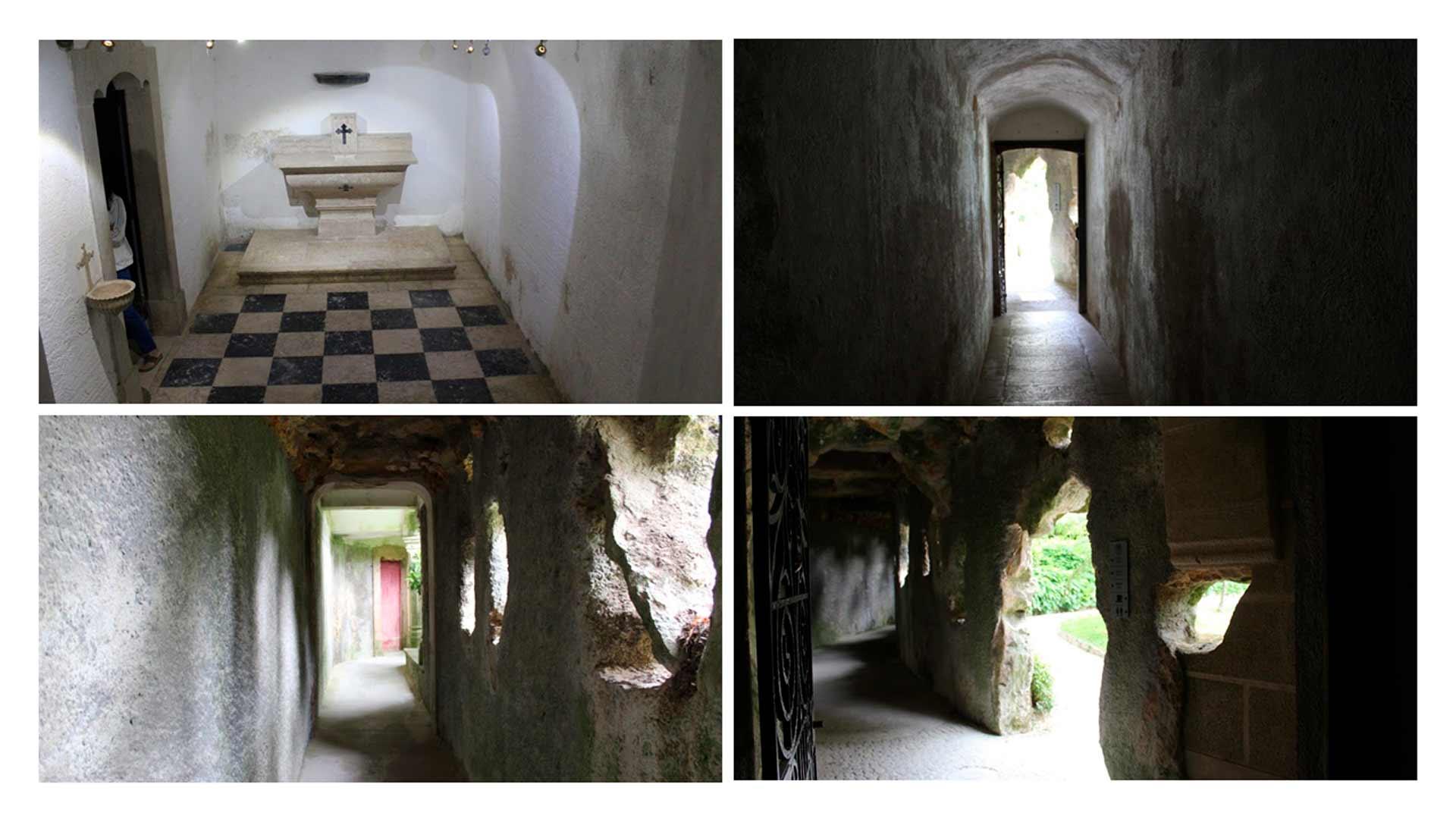Mai detalhes dos edifícios da Quinta da Regaleira