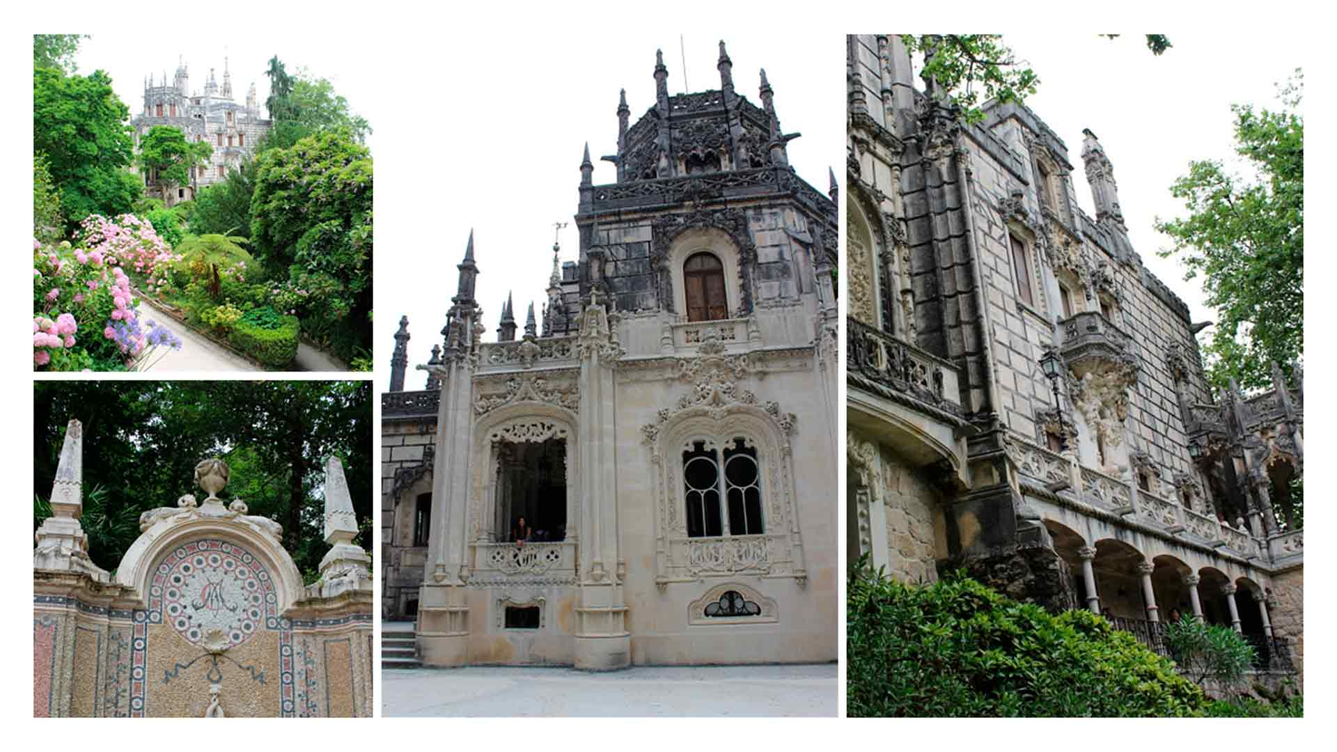 Mais detalhes dos edifícios da Quinta da Regaleira