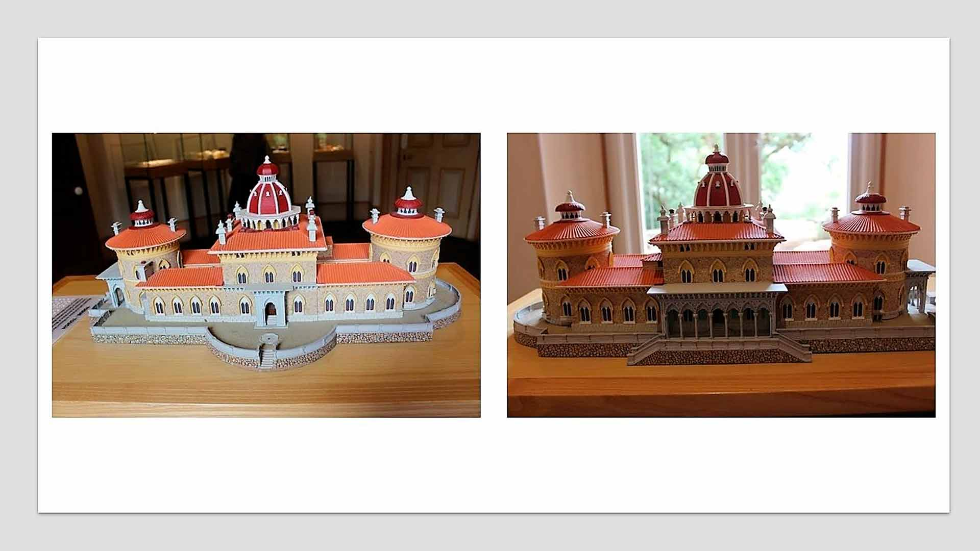 Maquete do Palácio de Monserrate
