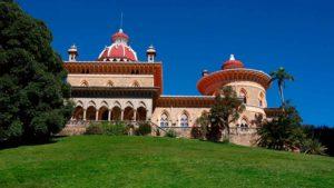 Vista do exterior do Palácio de Monserrate, em Sintra